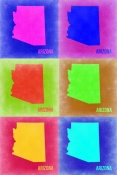 NAXART Studio - Arizona Pop Art Map 2