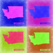 NAXART Studio - Washington Pop Art Map 2