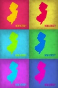 NAXART Studio - New Jersey Pop Art Map 1