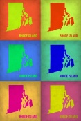 NAXART Studio - Rhode Island Pop Art Map 1
