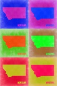 NAXART Studio - Montana Pop Art Map 2