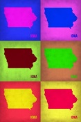 NAXART Studio - Iowa Pop Art Map 2