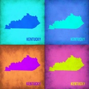 NAXART Studio - Kentucky Pop Art Map 1