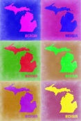 NAXART Studio - Michigan Pop Art Map 2