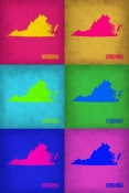 NAXART Studio - Virginia Pop Art Map 1