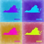 NAXART Studio - Virginia Pop Art Map 2
