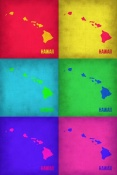 NAXART Studio - Hawaii Pop Art Map 1