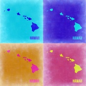 NAXART Studio - Hawaii Pop Art Map 2