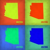 NAXART Studio - Arizona Pop Art Map 1