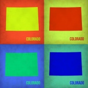 NAXART Studio - Colorado Pop Art Map 1