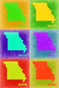 NAXART Studio - Missouri Pop Art Map 2