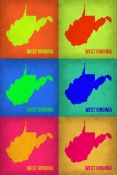 NAXART Studio - West Virginia Pop Art Map 1