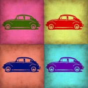 NAXART Studio - VW Beetle Pop Art 1