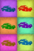 NAXART Studio - Porsche Pop Art 2