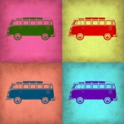 NAXART Studio - VW Bus Pop Art 1