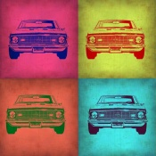 NAXART Studio - Chevy Camaro Pop Art 1
