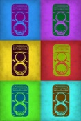 NAXART Studio - Vintage Camera Pop Art 2