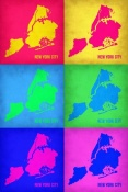 NAXART Studio - New York City Pop Art Map 3