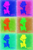 NAXART Studio - Seattle Pop Art Map 3
