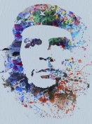 NAXART Studio - Che Guevara Watercolor
