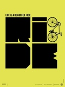 NAXART Studio - Life is a Ride Poster