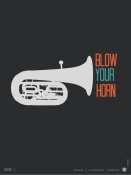 NAXART Studio - Blow Your Horn Poster