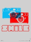 NAXART Studio - Smile Camera Poster