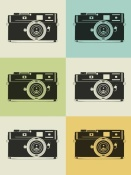 NAXART Studio - Camera Grid Poster