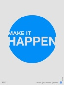 NAXART Studio - Make it Happen Poster