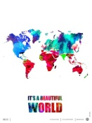 NAXART Studio - It's a Beautifull World Poster