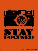 NAXART Studio - Stay Focused Poster