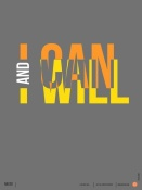 NAXART Studio - I can and I will Poster