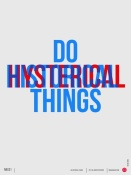 NAXART Studio - Do Historical Things Poster