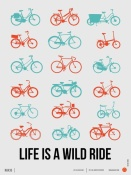 NAXART Studio - Life is a Wild Ride Poster 2
