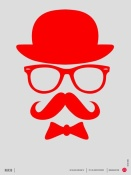 NAXART Studio - Hats Glasses and Mustache Poster 2