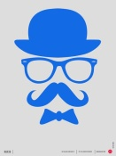 NAXART Studio - Hats Glasses and Mustache Poster 3