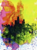 NAXART Studio - Chicago Watercolor Skyline