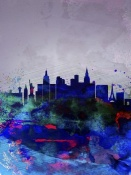 NAXART Studio - Las Vegas Watercolor Skyline