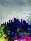 NAXART Studio - New Orleans Watercolor Skyline