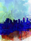 NAXART Studio - Portland Watercolor Skyline