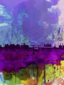 NAXART Studio - Amsterdam Watercolor Skyline