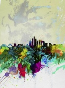 NAXART Studio - Beijing Watercolor Skyline