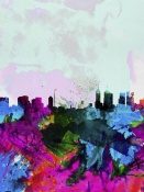 NAXART Studio - Melbourne Watercolor Skyline