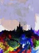 NAXART Studio - Moscow Watercolor Skyline