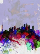 NAXART Studio - Shanghai Watercolor Skyline