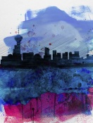 NAXART Studio - Vancouver Watercolor Skyline