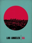 NAXART Studio - Los Angeles Circle Poster 1
