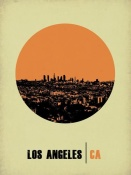 NAXART Studio - Los Angeles Circle Poster 2