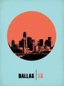 NAXART Studio - Dallas Circle Poster 1