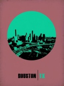 NAXART Studio - Houston Circle Poster 1